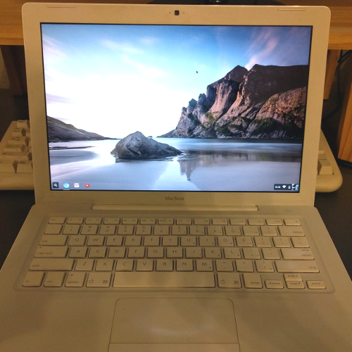 Chromium OS on a 2007 MacBook