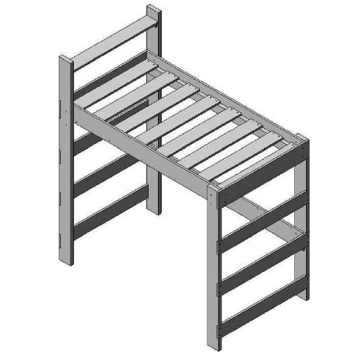 Loft Single Bed Adult